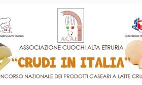 "Double prize at ""Crudi in Italia"""