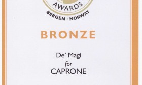 Caprone un altro podio al World Cheese Awards